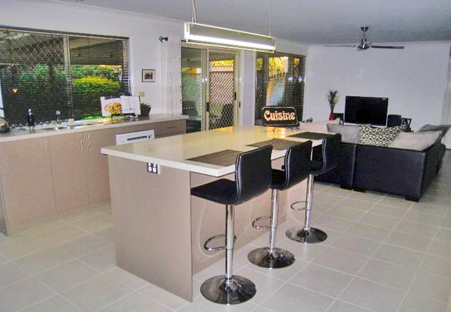 Kitchens new and remodelled by Gecko Kitchens licenced builder in Brisbane