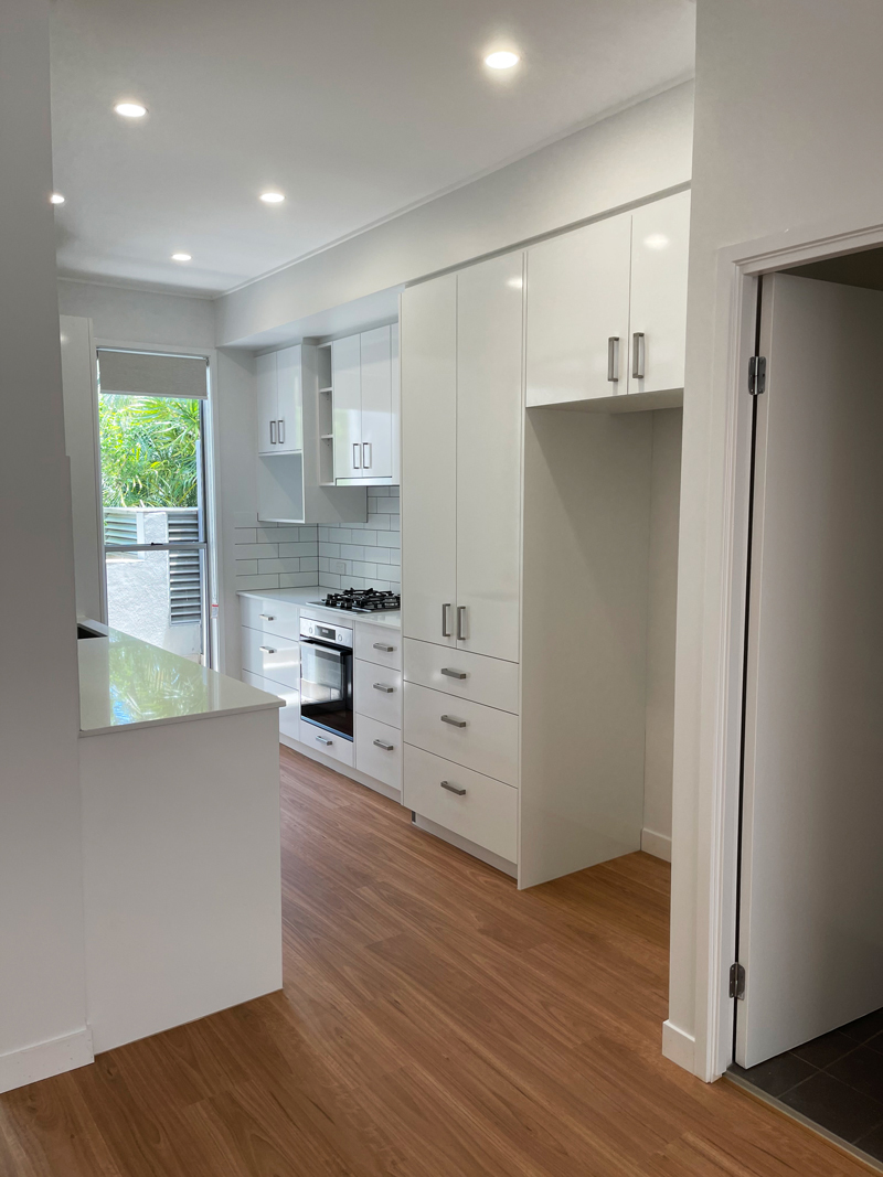 Polytec Classic White Gloss Kitchen - New & Remodelled by Gecko Kitchens Upper Kedron, Brisbane