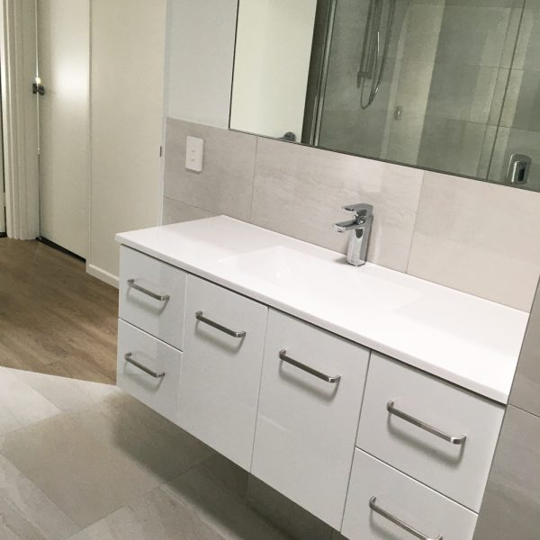 Bathroom Designer and Builder Gecko Kitchens is a licenced builder in Brisbane and creates beautiful kitchens, bathrooms and laundries.