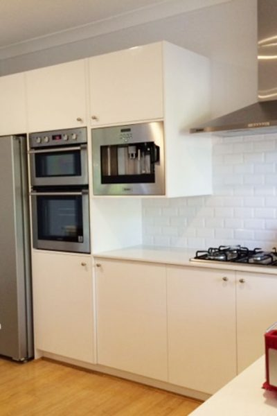 Kitchen built by Gecko Kitchens Brisbane Kitchen Builders and Designers of Kitchens, Bathrooms and Laundries.