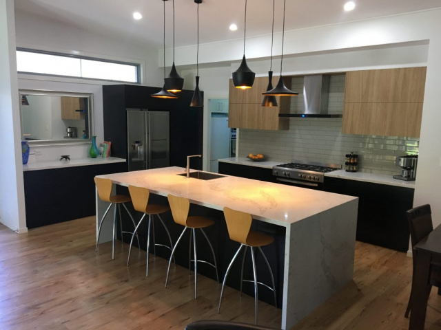 Beautiful functional kitchen installation by Gecko Kitchens, licenced builder in Brisbane