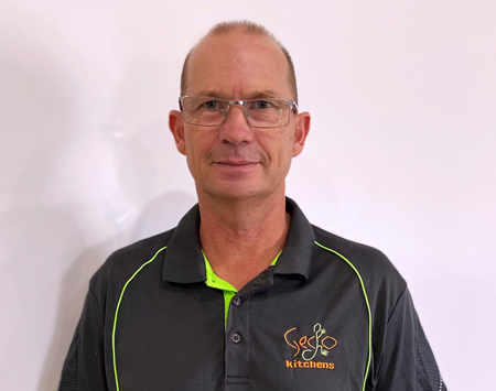 Nigel Fricker is the owner of Gecko Kitchens. He is a licenced builder in Brisbane building beautiful kitchens, bathrooms and laundries
