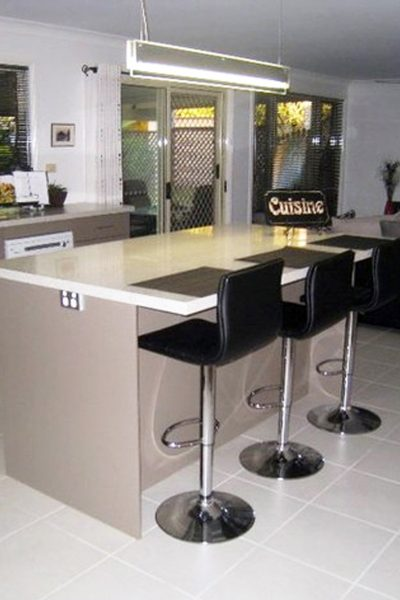 Modern Kitchen built and designed by Gecko Kitchens, licenced builder in Brisbane