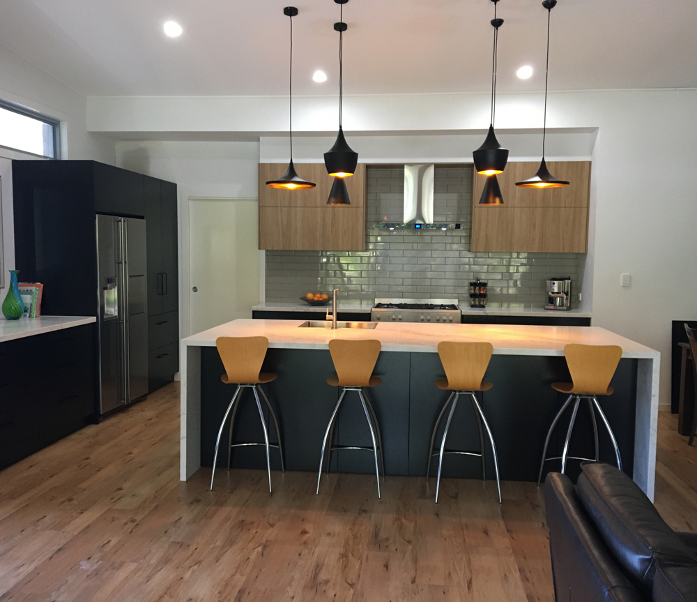 Modern Kitchen built and designed by Gecko Kitchens, licenced builder in Brisbane