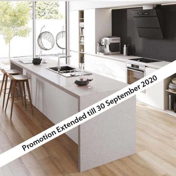 Stone Kitchen Benchtops available from Gecko Kitchens licenced builder in Brisbane